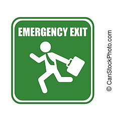 emergency exit design - emergency exit graphic design ,...
