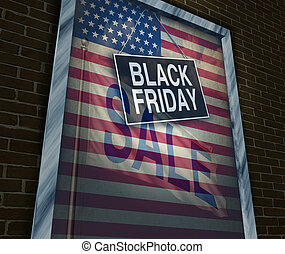 Black Friday Holiday - Black Friday holiday sale banner sign...