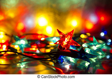 Abstract background Fairy lights