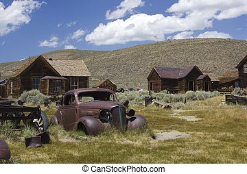 Bodie Ghost town, overview - Bodie, California (USA): Bodie...