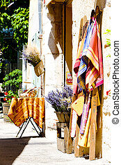 shop in Aiguines, Var Departement, Provence, France