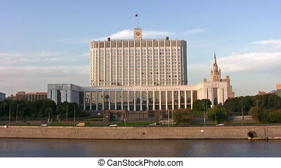 white house Moscow - White house in Moscow city