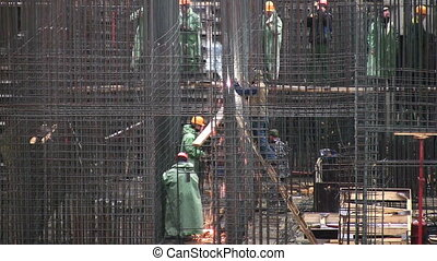reinforcement construction - Reinforcement construction.