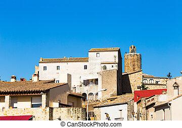 Pals - Little medieval village of Pals, Costa Brava.