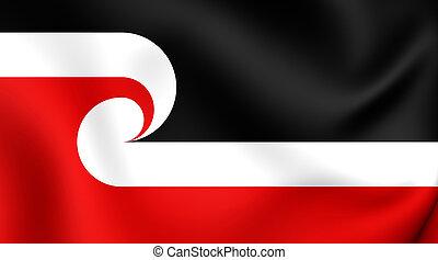 Maori Flag - Tino Rangatiratanga Flag of the Maori...