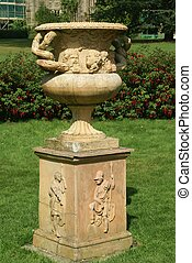 sculptured urn