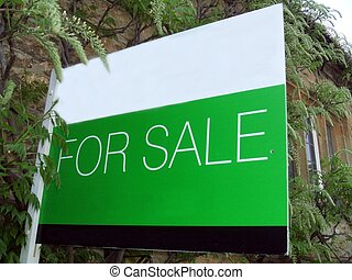 for sale sign - property for sale sign