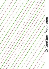 Candy Cane Background - A Candy Cane inspired striped...