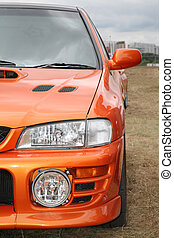Sinaasappel, auto