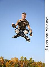 jumping roller