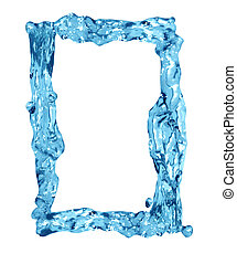 Water Frame - Frame for your images made from splashing...