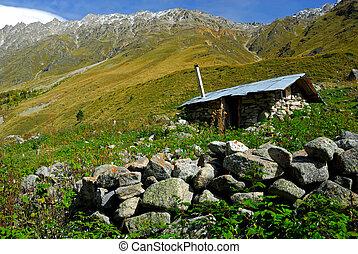 Old shepherd's house