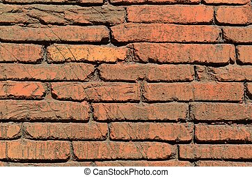 Red Brick Wall - Red Brick wall background