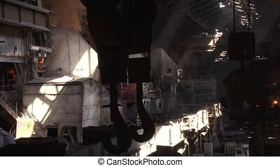 Metallurgical Plant - View of the Iron and Steel Works