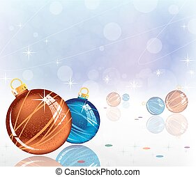 sparkling Christmas decorations