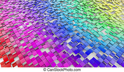multicolored abstract background - background of multi...