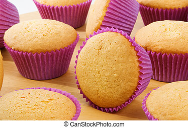 Cup Cakes - Freshly baked Cup Cakes