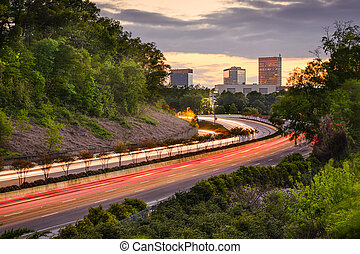Greenville, South Carolina Highway - Greenville, South...