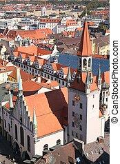 munich cityscape