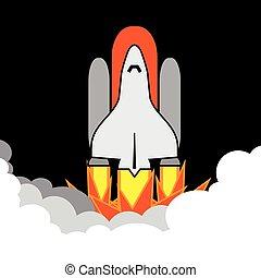 spacecraft vector