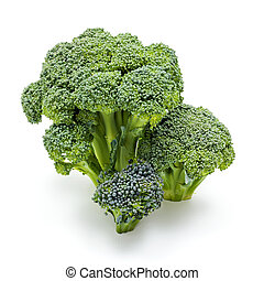 Ripe broccoli crops - Bunch of ripe fresh broccoli cabbage...