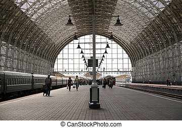 Kiev station in Moscow