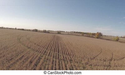 Aerial agriculture farm field lands - Agriculture aerial...