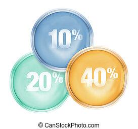 percentage Icon Design