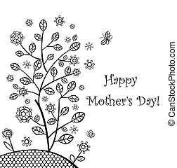Decorative tree for Mothers day