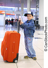 boy with case