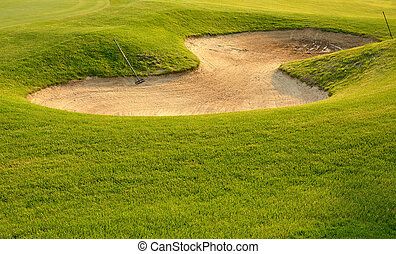 Golf Sand Trap - Nobody likes a sand trap!