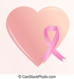 breast cancer - a big heart and a breast cancer prevention...