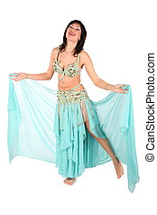 bellydance woman laughing