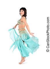 skirt dance woman