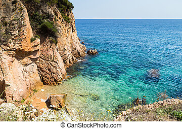 Costa Brava - Fantastic corner of Costa Brava beach in Sant...