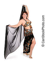 dark plump belly dance