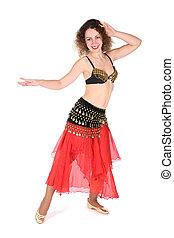 belly dance girl