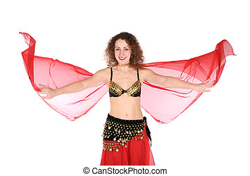 belly dance girl