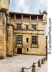 Sarlat Dordogne Perigord France - in the beautiful city of...