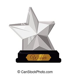 trophy design - trophy graphic design , vector illustration