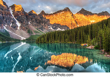 Moraine Lake in Canada
