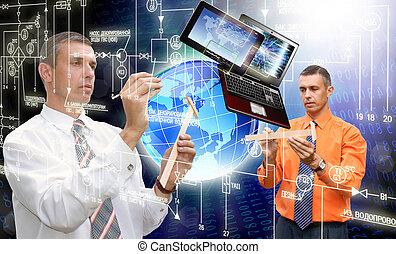 Globalización, computadora, tecnología