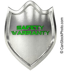 security shield steel - steel shield with the symbol...