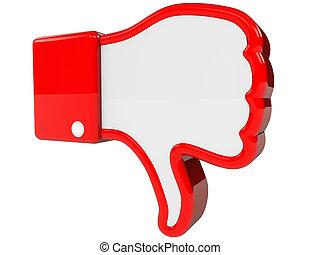 symbol of negative feedback - I hate symbol 3D rendering...
