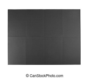 Black poster on a white background - Black poster on a white...