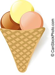 ice cream icon vector illustration