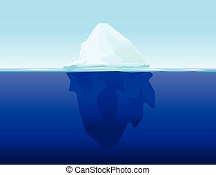 Clip Art Iceberg Clipart iceberg clip art and stock illustrations 2243 eps ice berg on water concept vector background