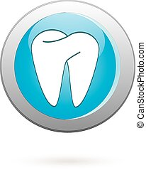Dental icon - Oral hygiene icon- vector illustration Clean...