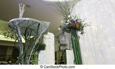 Round trip Elements Wedding ceremony - Festively decorated...