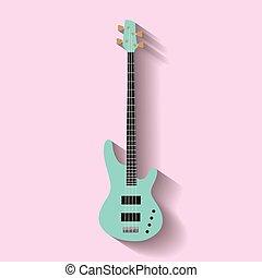 Bass Guitar vector